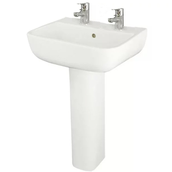 RAK Series 600 Bathroom Suite 2 Tap Hole-1