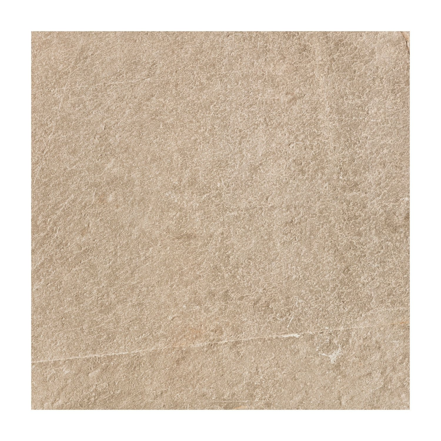 RAK Shine Stone Porcelain Tile - 600mm H x 600mm W - Dark Beige (Box of 4)