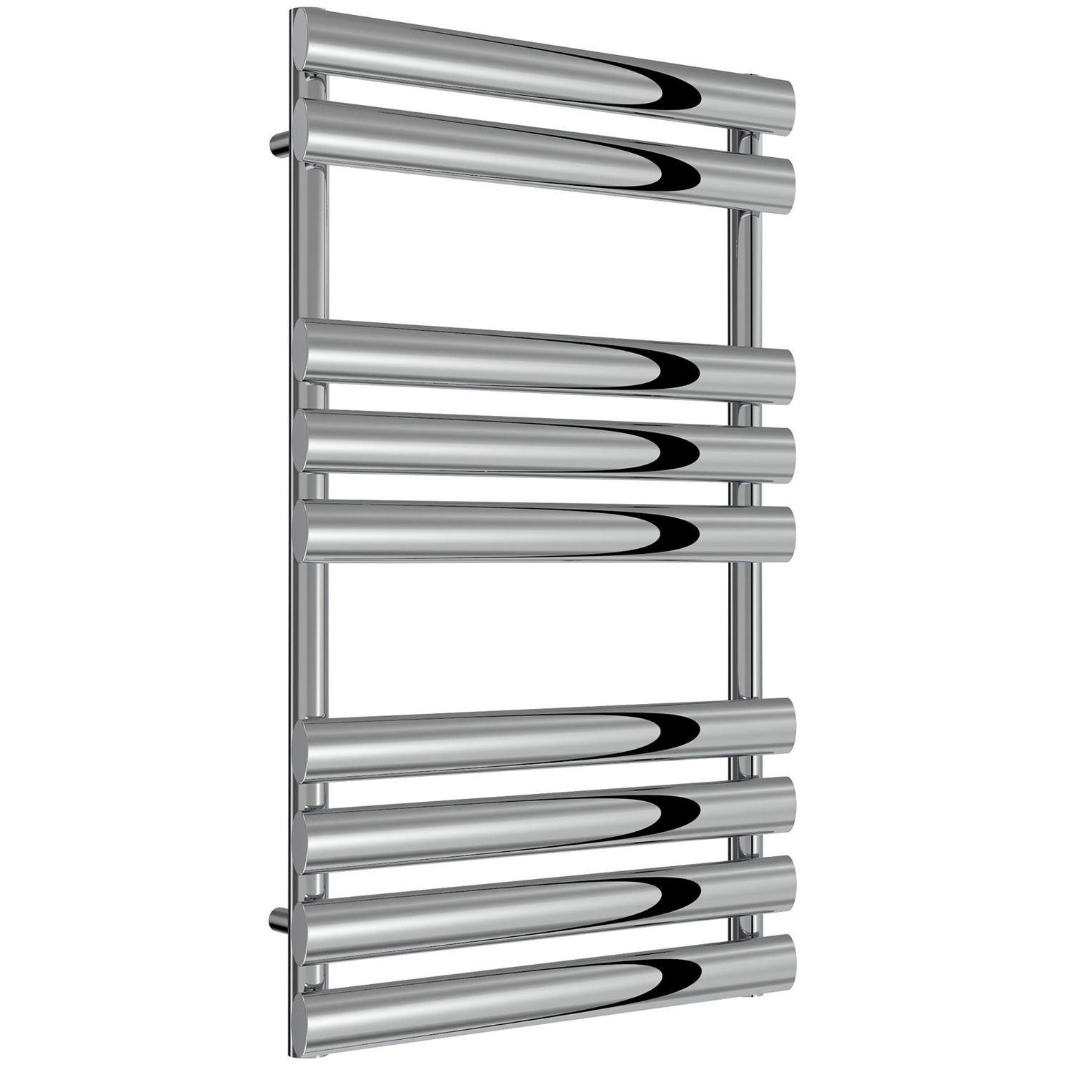 Reina Arbori Designer Heated Towel Rail 820mm H x 500mm W Chrome