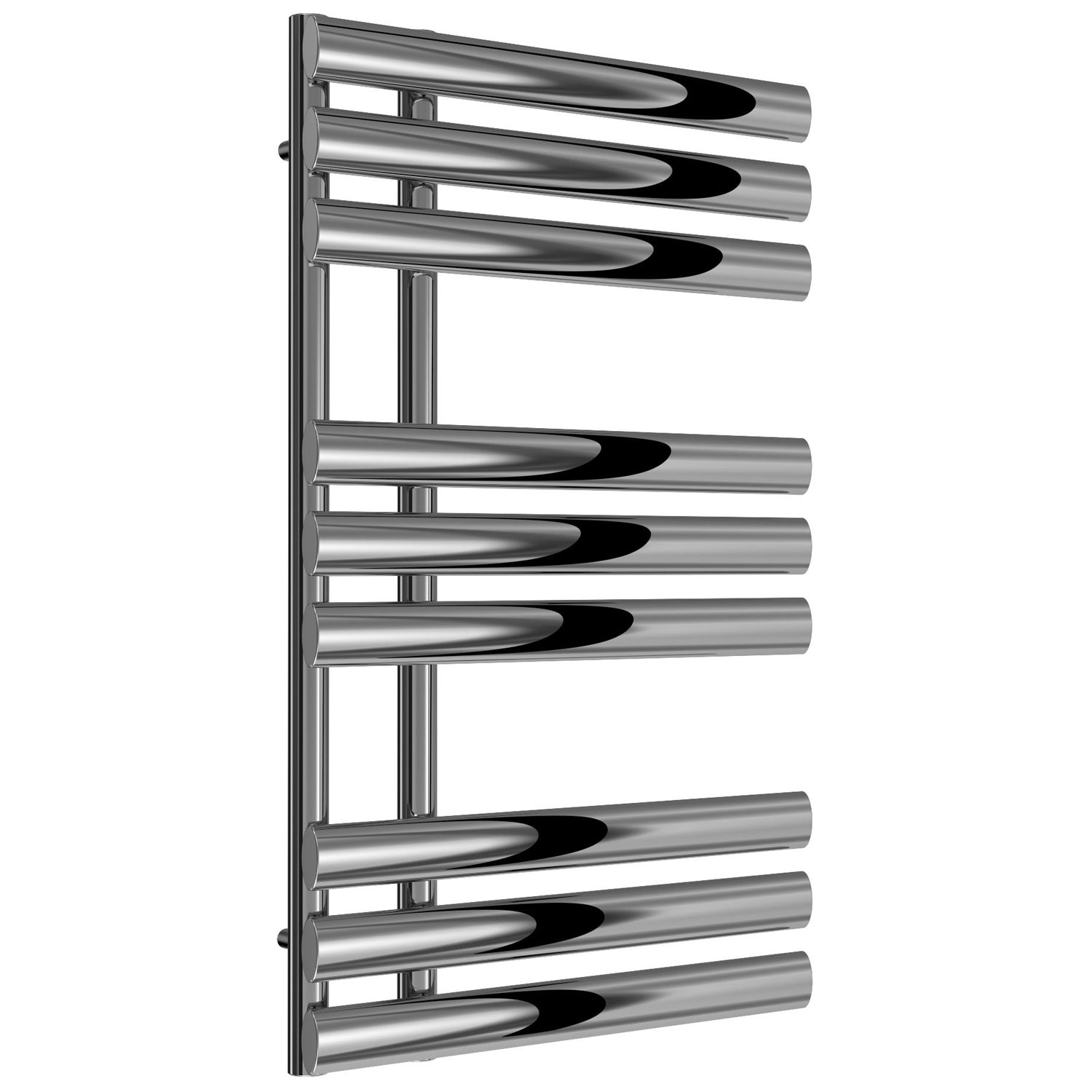 Reina Chisa Designer Heated Towel Rail 820mm H x 500mm W Chrome-0