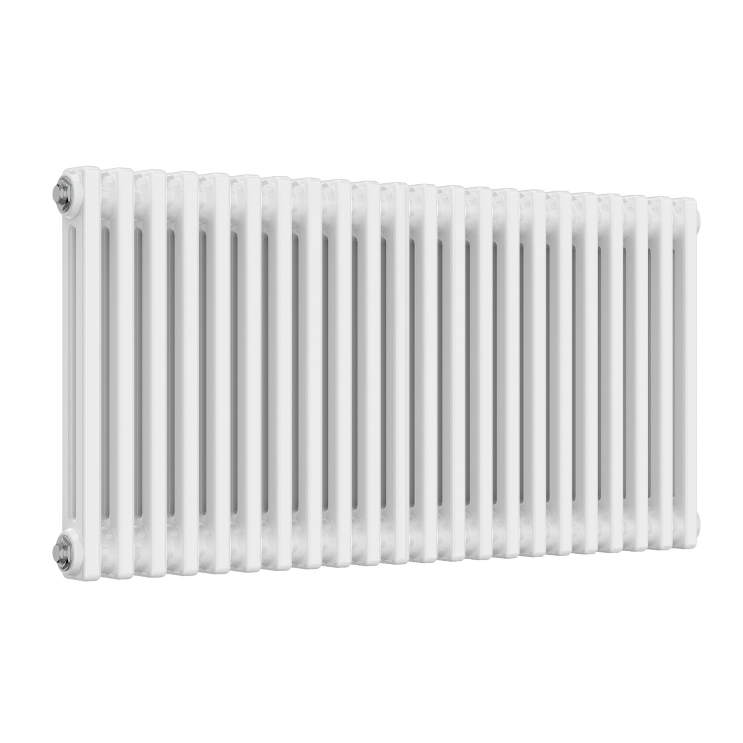 Stelrad Radical Radiator 600mm H x 400mm W Single Convector 10mm Angled TRV