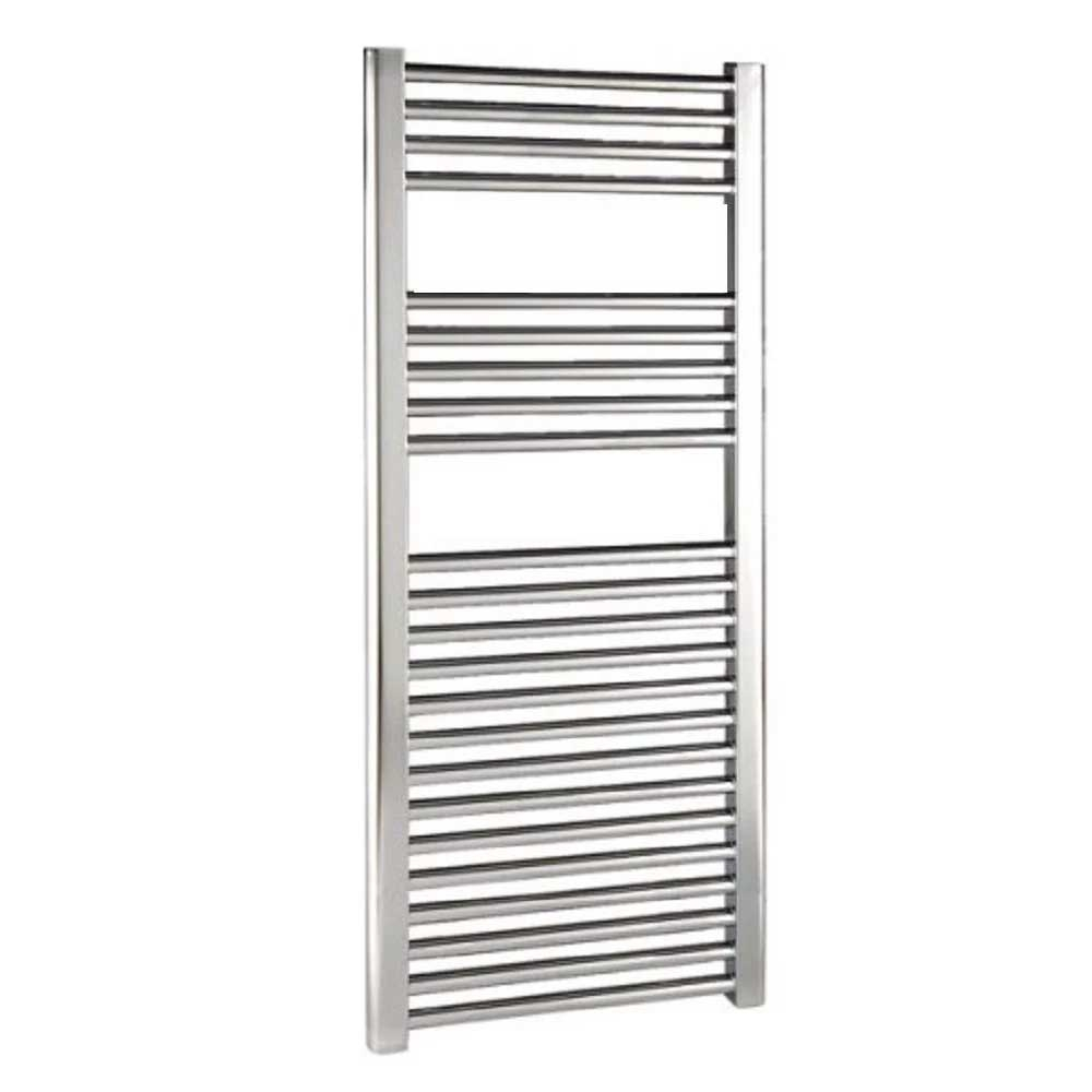 Reina Diva Electric Straight Heated Towel Rail 800mm H x 500mm W Chrome