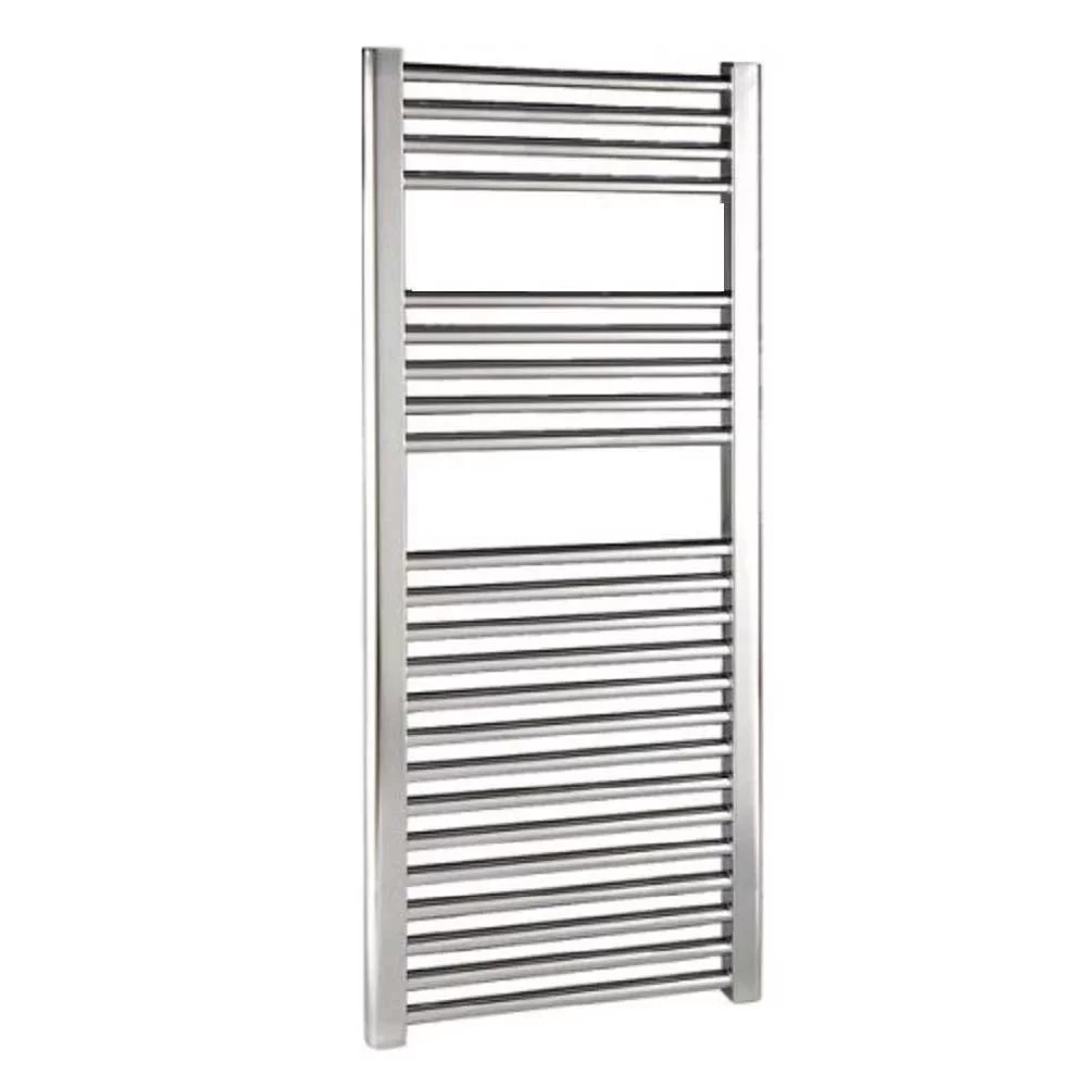 Reina Diva Electric Straight Heated Towel Rail 1200mm H x 750mm W Chrome