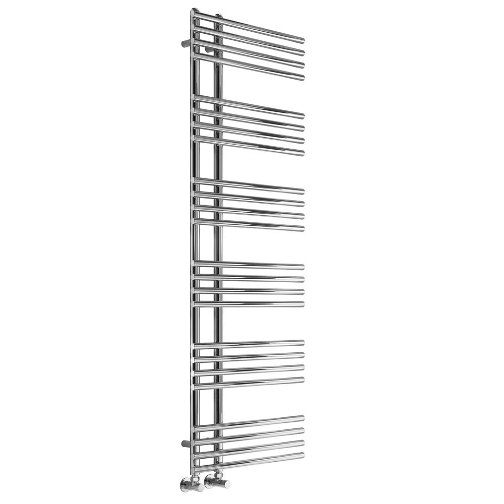 Reina Elisa Designer Heated Towel Rail 1000mm H x 500mm W Chrome-0