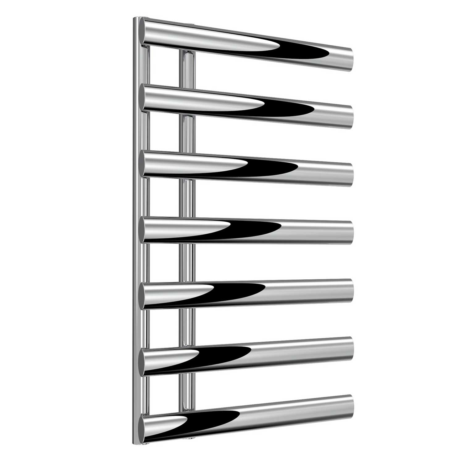 Reina Grace Designer Heated Towel Rail 780mm H x 500mm W Chrome