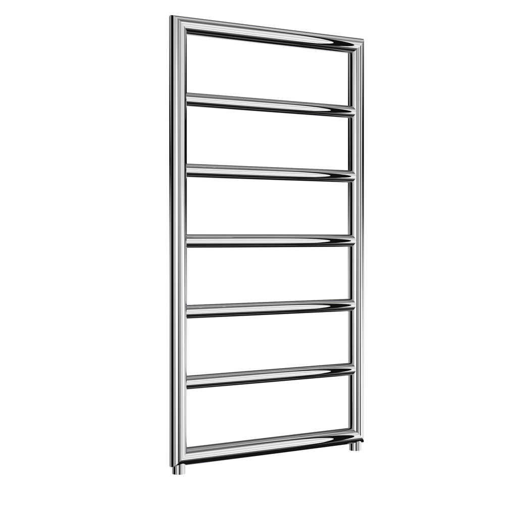Reina Nardo Designer Heated Towel Rail 1200mm H x 550mm W Chrome-0