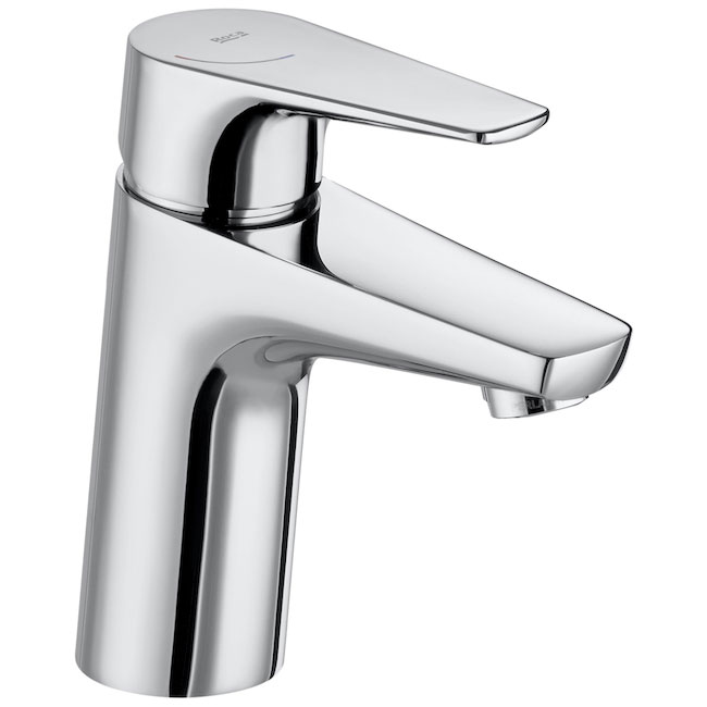 Roca Atlas Basin Mixer with Smooth Body and Flexible Tails