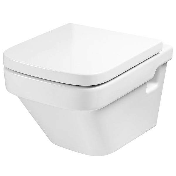 Roca Dama-N Wall Hung Toilet, 570mm Projection, Standard Seat