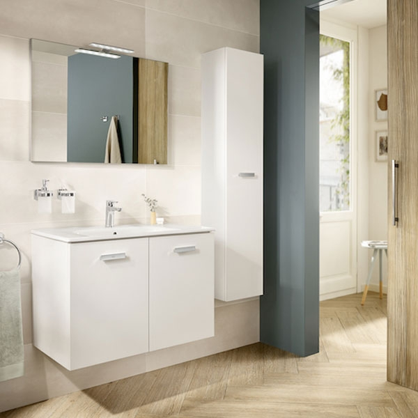Roca Deimos Bathroom Mirror 900mm H x 600mm W