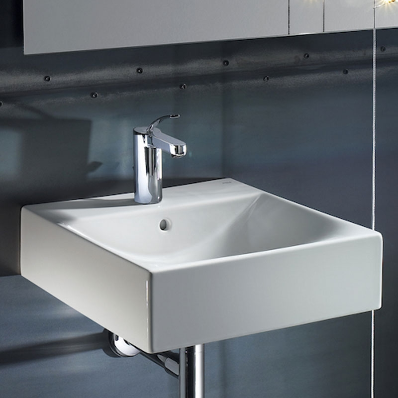 Roca Diverta Wall Hung Basin 470mm W - 1 Tap Hole