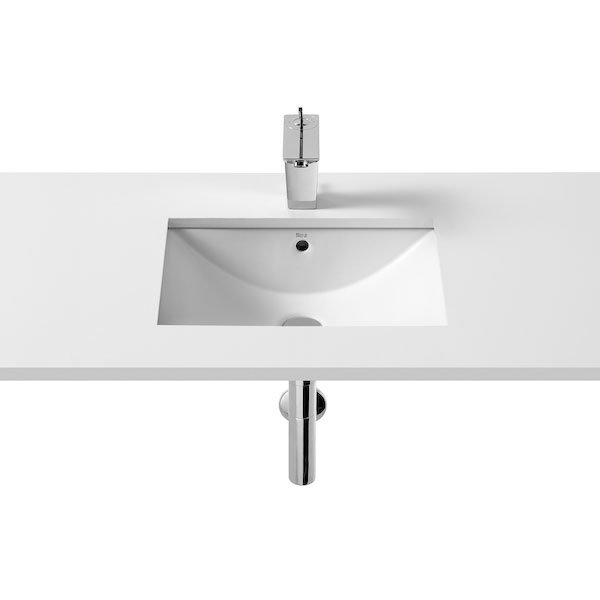 Roca Diverta Inset Countertop Basin 500mm W - 0 Tap Hole