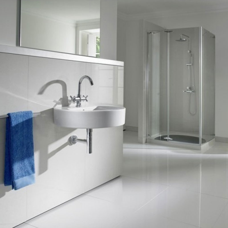 Roca Happening Wall Hung Basin, 560mm Wide, 0 Tap Hole