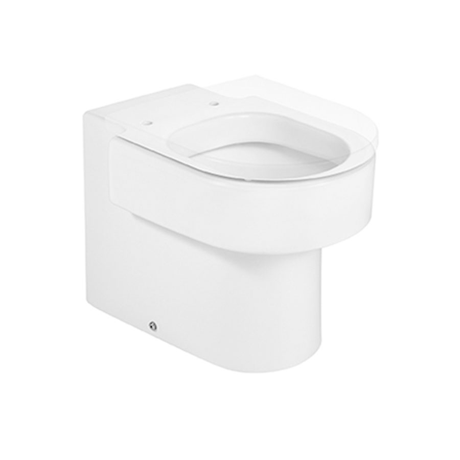 Roca Happening Back to Wall Toilet, 560mm Projection, Soft Close Seat