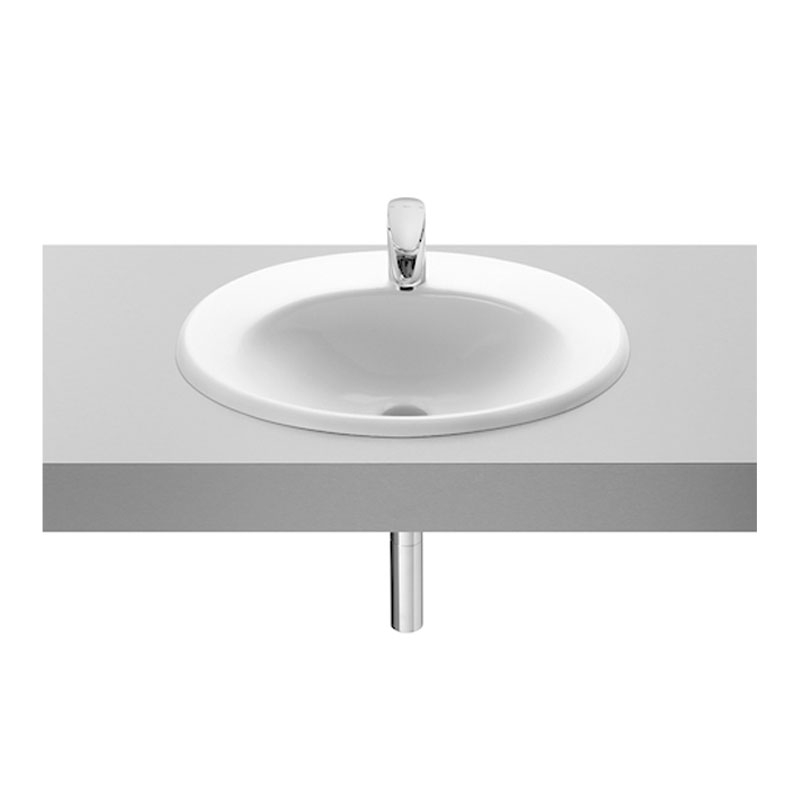 Roca Java Inset Countertop Basin 560mm W - 1 Tap Hole