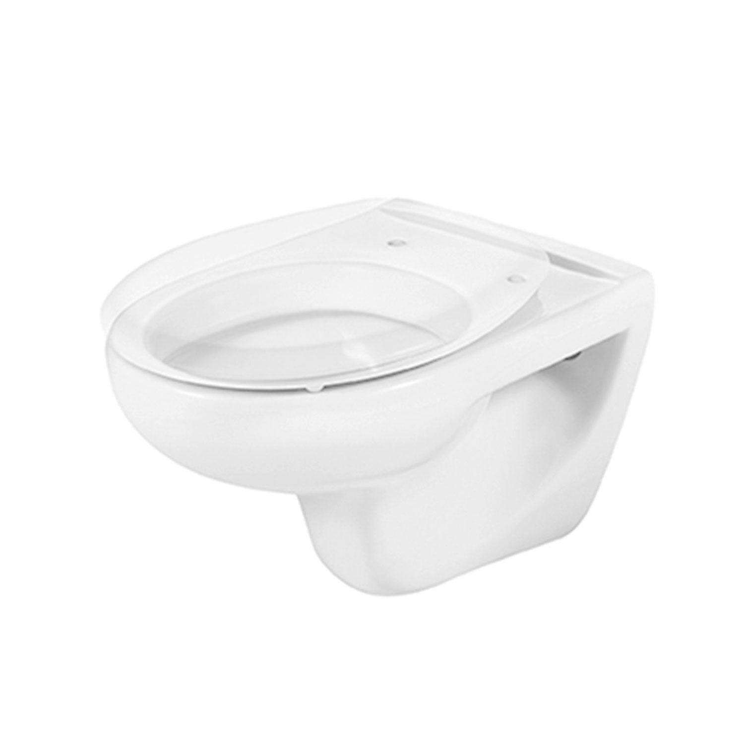 Roca Laura Wall Hung Toilet, 525mm Projection, Standard Seat-0