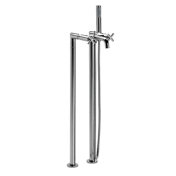 Roca Loft Bath Shower Mixer Tap Floor Mounted - Chrome