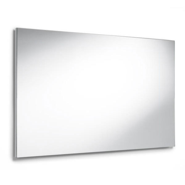 Roca Luna Rectangular Bathroom Mirror 1000mm H