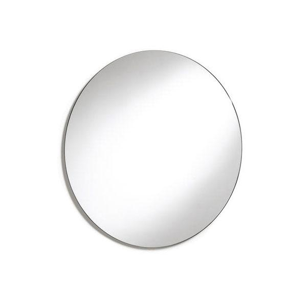 Roca Luna Round Bathroom Mirror 550mm H x 550mm W