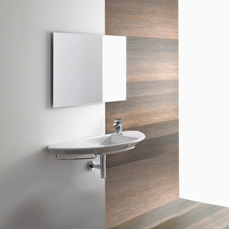 Roca Mohave Wall Hung Basin 1100mm Wide - 1 Tap Hole
