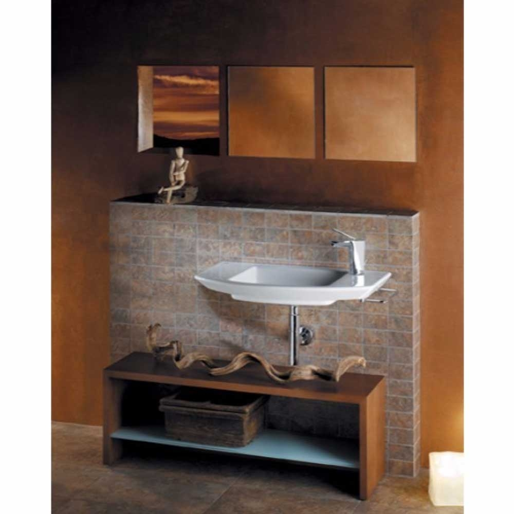 Roca Mohave Wall Hung Basin 750mm W - 1 Tap Hole