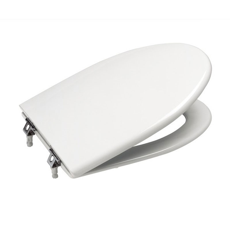 Roca New Classical Close Coupled Toilet with Dual Outlet Push Button Cistern, Soft Close Seat