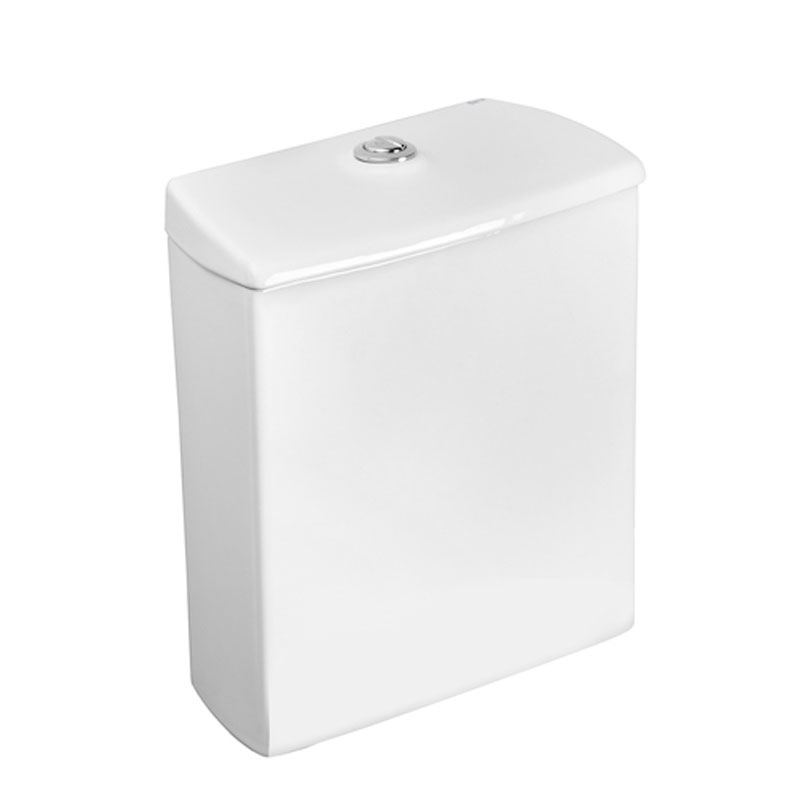 Roca Nexo Compact Closed Coupled Toilet WC Push Button Cistern - Soft Close Seat-3