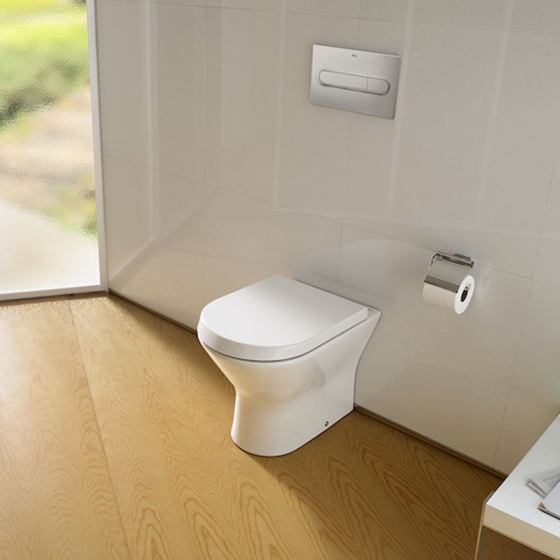 Roca Nexo Back to Wall Toilet WC 540mm Projection - Standard Seat-1