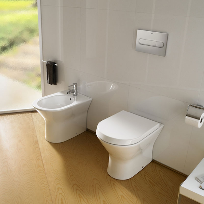 Roca Nexo Back to Wall Toilet WC 540mm Projection - Standard Seat-0
