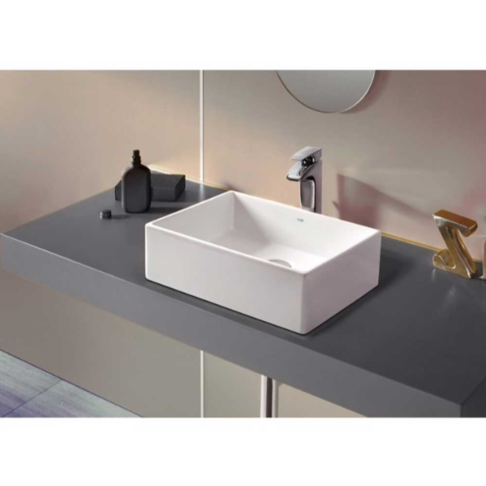 Roca Sofia Over Countertop Basin 465mm W - 0 Tap Hole-1
