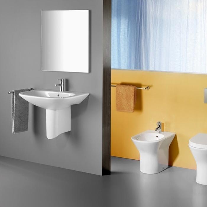 Roca Victoria-N Bathroom Mirror 600mm W Textured Wenge