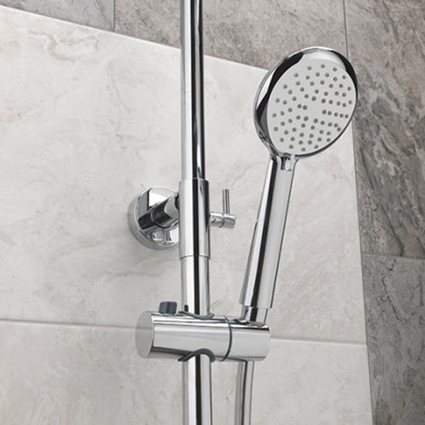 Sagittarius Aurora Deluxe Bar Mixer Shower with Shower Kit + Fixed Head