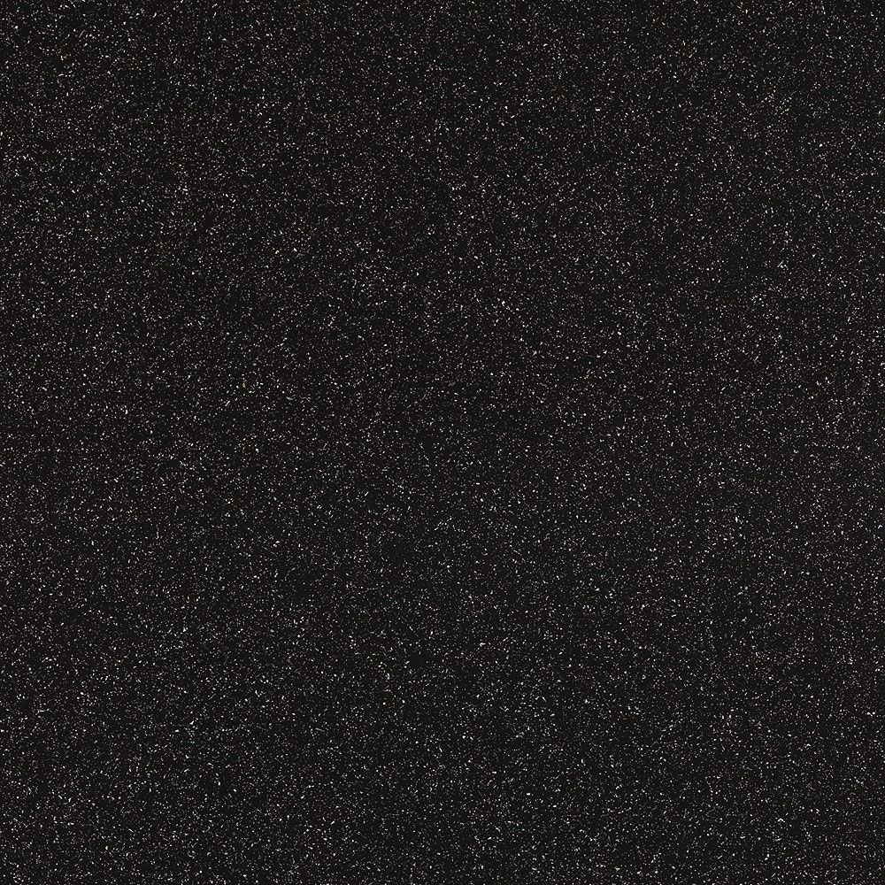 Showerwall Straight Edge Waterproof Shower Panel 900mm Wide x 2440mm High - Black Galaxy