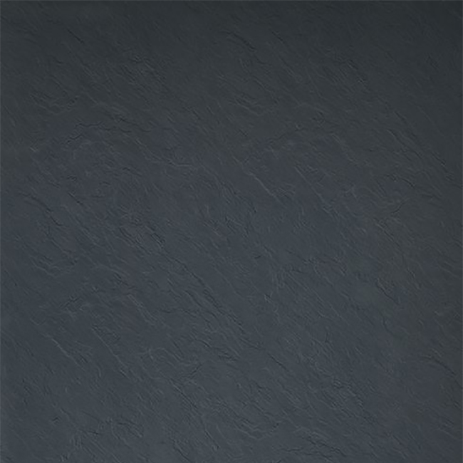 Showerwall Straight Edge Waterproof Shower Panel 1200mm Wide x 2440mm High - Slate Grey