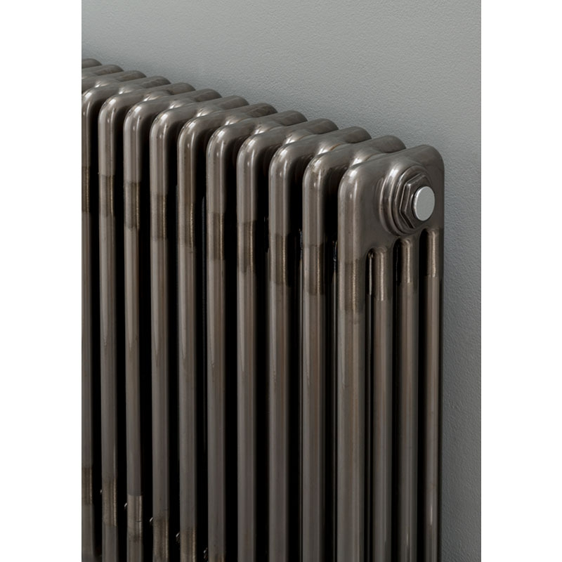 S4H Cornel Horizontal 3 Column Radiator 500mm H x 429mm W - 9 Sections - Lacquer