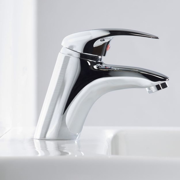 Tavistock Cruz Basin Mixer Tap - Chrome