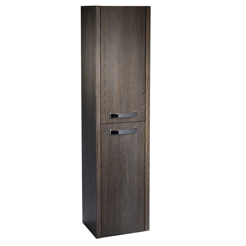 Tavistock Impact Tall Boy Bathroom Storage Unit 360mm Wide Java