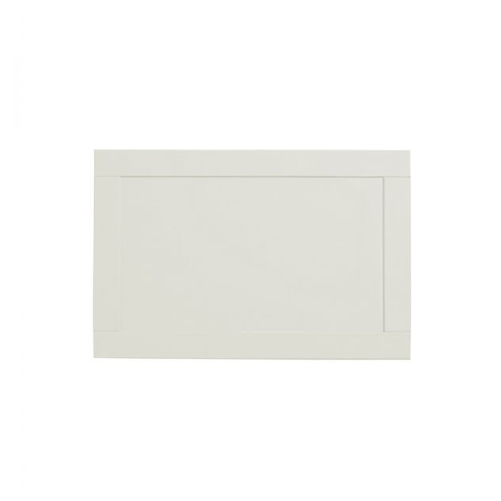 Tavistock Lansdown MDF End Bath Panel 700mm W x 500mm H - Linen White