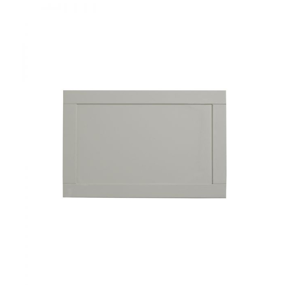 Tavistock Lansdown MDF End Bath Panel 700mm W x 500mm H - Pebble Grey