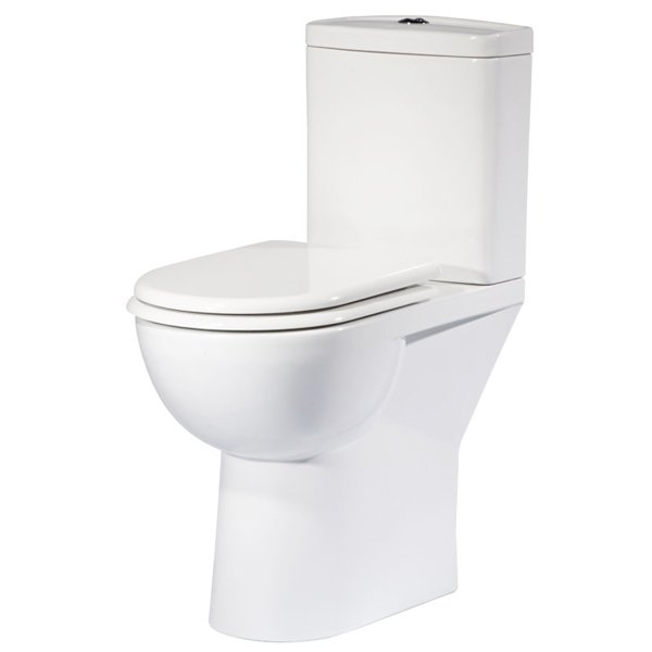 Tavistock Micra Comfort Height Toilet with Push Button Cistern - Soft Close Seat