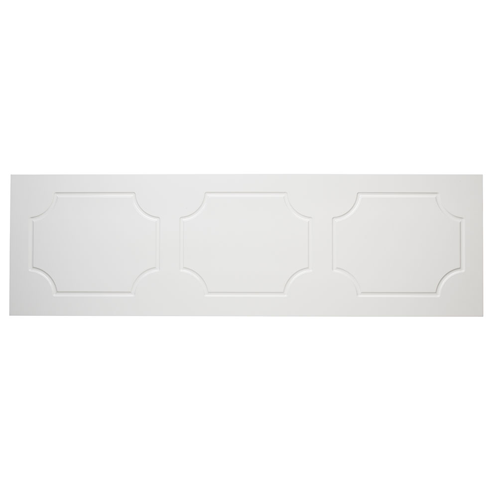 Tavistock Milton MDF Front Bath Panel 515mm H x 1500mm W - White