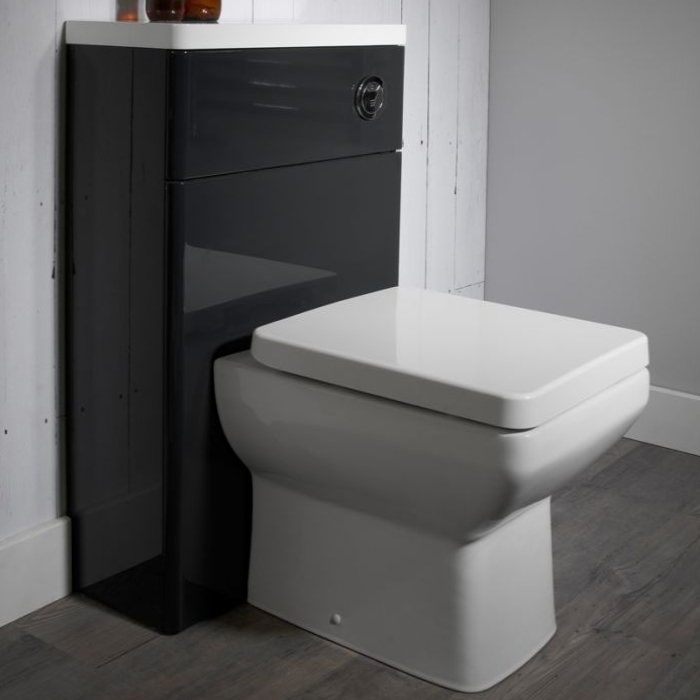 Tavistock Q60 Back to Wall Toilet WC 460mm Projection - Soft Close Seat