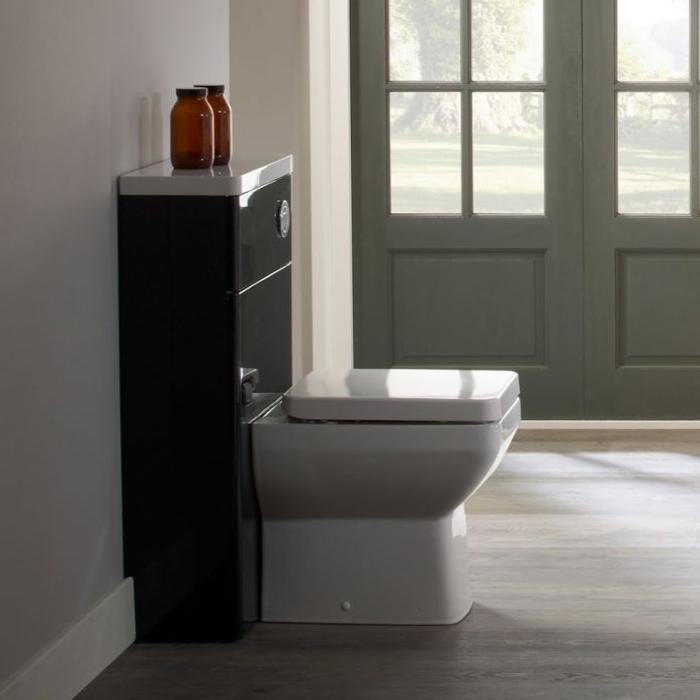 Tavistock Q60 Back to Wall Toilet WC 460mm Projection - Soft Close Seat-1