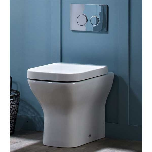 Tavistock Structure Back to Wall Toilet 345mm W - Soft Close Seat