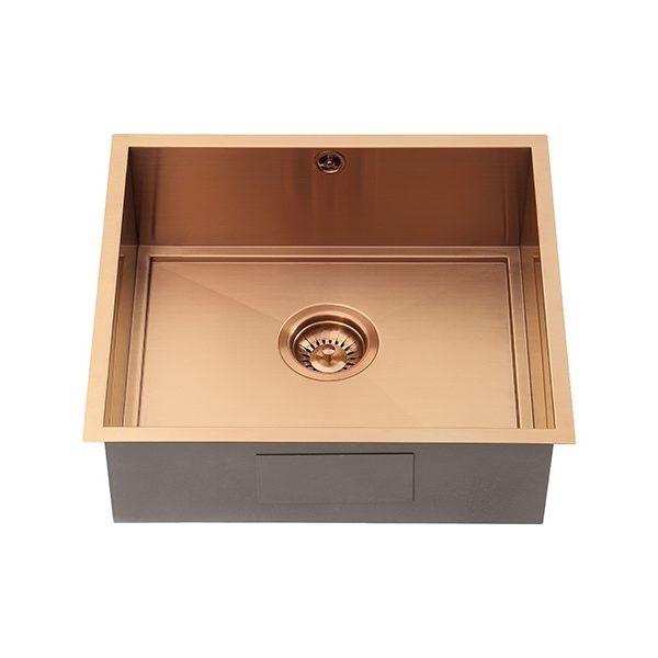 The 1810 Company Axixuno 450U SOS 1.0 Bowl Kitchen Sink - Copper