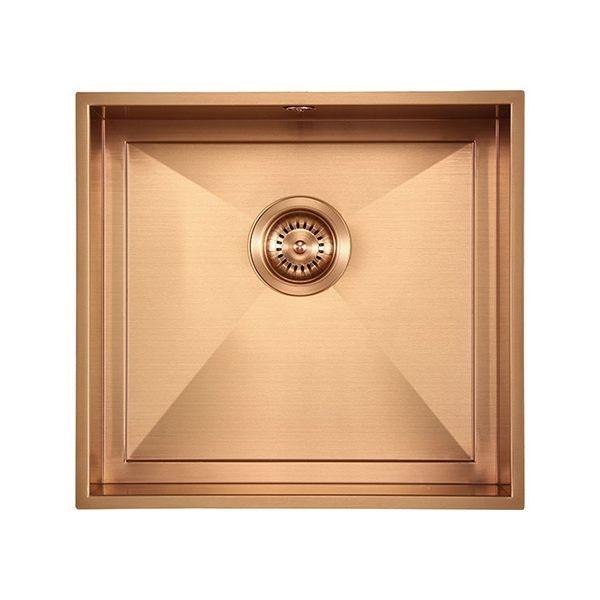 The 1810 Company Axixuno 450U QG 1.0 Bowl Kitchen Sink - Copper