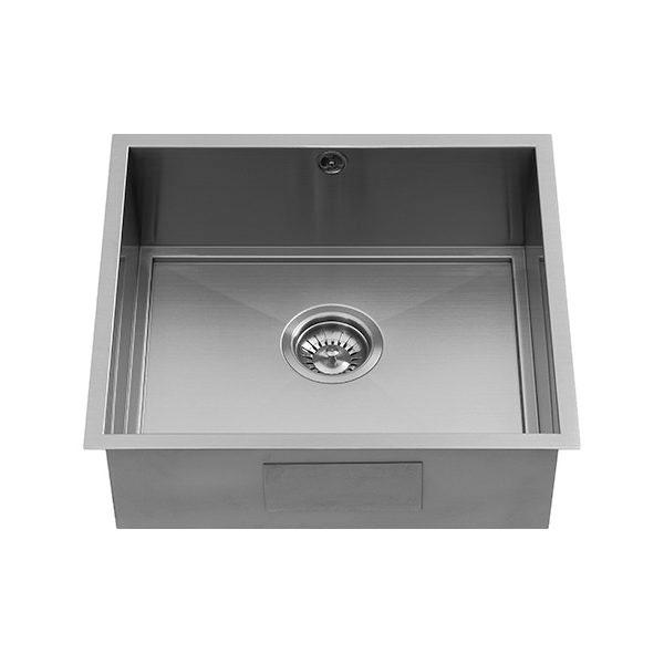 The 1810 Company Axixuno 450U SOS 1.0 Bowl Kitchen Sink - Gunmetal