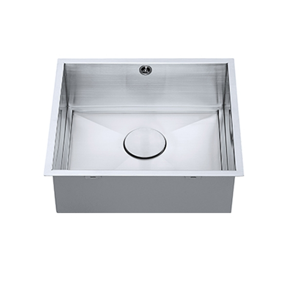 The 1810 Company Axixuno 450U SOS 1.0 Bowl Kitchen Sink - Stainless Steel