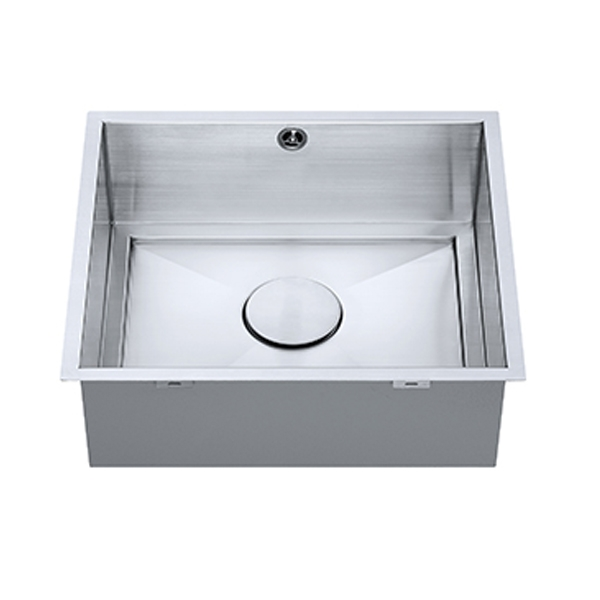 The 1810 Company Axixuno 450U QG 1.0 Bowl Kitchen Sink - Stainless Steel
