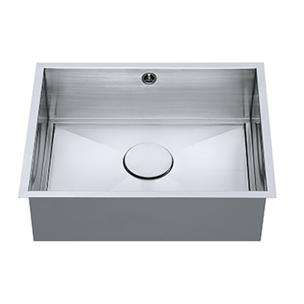 The 1810 Company Axixuno 500U SOS 1.0 Bowl Kitchen Sink - Stainless Steel