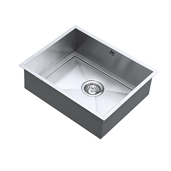 The 1810 Company Axixuno 500U QG 1.0 Bowl Kitchen Sink - Stainless Steel